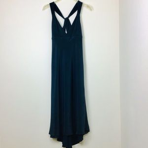 J Crew Silk Nvay Blue Dress S10